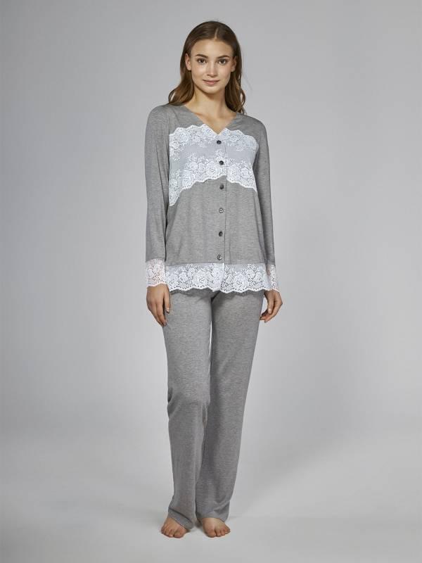 Піжама Lavander grey