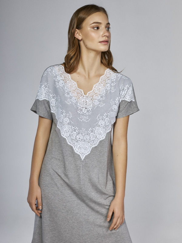 Нічна сорочка Lavander grey